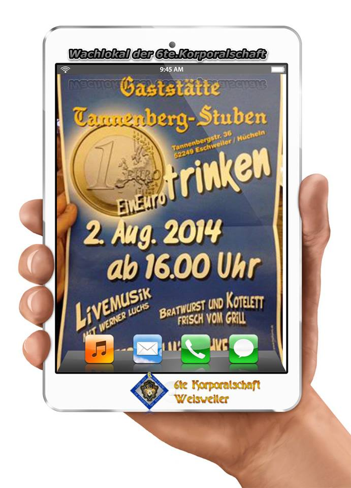 ein Euro Fete Tannenberg